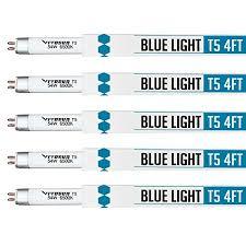 vivosun grow ls 5 packs 4ft 46in 6500k t5 fluorescent grow