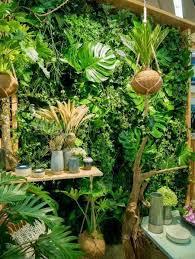 jungle exotisches pflanzen arrangement wie im dschungel