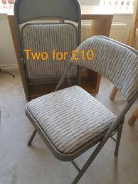 Folding Chairs X2 For £10   In Fettes, Edinburgh   Gumtree Studio Alinum Folding Directors Chair Dark Grey Amazoncom Rivalry Ncaa Western Michigan Broncos Black Kitchen Bar Fniture Wikipedia Logo Brands Quad Montana Woodworks Mwac Collection Red Cedar Adirondack Ready To Finish Realtree Rocking Zdz1011 Lumber Juiang Backrest Glue Rattanchair Early 20th Century Rosewood Tea Planters From Toilet Chair Details About All Things Sand 30w X 35d