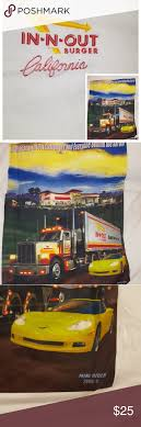 100 In N Out Burger Truck WOT TShirt Ew Never Worn 100 Preshrunk Cotton