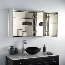 lighted medicine cabinet with mirror country kitchen backsplash