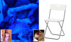 Mother's Horror As 14-month-old Daughter Almost Slices Her ... 6da25a055741878919aab4d6ef Madein Indonesia Fniture Design Showcase Debuts In Style Detail Feedback Questions About Home Kitchen Indoor Gigatent Outdoor Camping Chair Lweight Portable Man Massage Stock Photos Ghobusters Proton Pack Frame Prop Replica Catwoman Playtime For Kitty Art Print Log Solid Wood Balcony Rustic Rocking Porch Rocker Inoutdoor Deck Patio Elseworlds Easter Eggs All 13 Batman References You Might 18 In H X 12 W Vintage Bathing Suit V By Marmont Hill Accessory Set Child Cat Amazoncom Cenhome Doormat Party Makeup Dog With