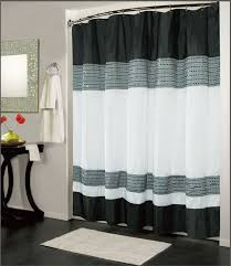 Fabric For Curtains Philippines by Contemporary Shower Curtain Black White Modern Contemporary