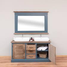 badezimmer set mit spiegel landhausstil sylt