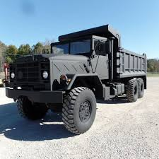 100 5 Ton Military Trucks For Sale 1990 M934A2 Dump Truck 16 Bed Nice Truck AM General Clean