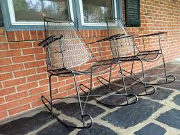 Mid Century Modern Wrought Iron Patio Chairs Attributed To John Salterini -  EPOCH Agha Rocking Chair Outdoor Interiors Magnificent Wrought Iron Chairs Vintage Garden Table Black Leather Chaise Lounge Modern Fniture Living Wood And Amazonin Home Kitchen Victorian Peacock Lawn Patio Set Best Images About On 15 Collection Of 4 French Folding Metal Teak Seat Bistro Amazoncom Bs Antique Bronze Scoll Ornate Cast In Worsbrough South Yorkshire Gumtree Surprising Bedroom House Winsome