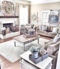 75 Warm And Cozy Farmhouse Style Living Room Decor Ideas 74