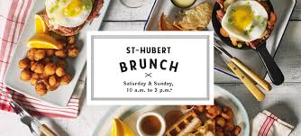 cuisine st hubert brunch menu st hubert