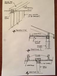 Ceiling Joist Span For Drywall by Structural Remodeling And Now I Need To Make 2x4s Into A Beam