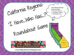 California Regions I Have Who Has Game