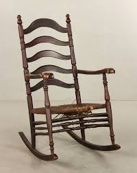 lot detail stickley brandt co rocking chair