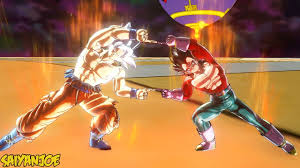 Ultra Instinct Goku SSJ4 Vegeta FUSION Gogeta