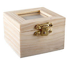 Artminds Wood Shadow Box With Lid