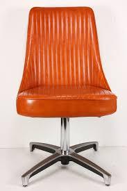 Chromcraft Chair Cushion Replacements by Vintage Mid Century Modern Chromcraft Swivel Chair Retro Burnt