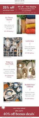 West Elm Coupons - 25% Off Everything At West Elm, Or Online ... Ebay 15 Off Coupon Code September 2019 Trees And Trends Store Coupons Best Tv Deals Under 1000 Decor Great Home Accsories And At West Elm 20 Pottery Barn Kids Onlein Stores Exp 52419 10 Ebay Shopping Through Modsy Everything You Need To Know Leesa Hybrid Mattress Coupon Promo Code Updated Facebook Provident Metals Promo Coupons At Or Online Via West Elm Entire Purchase Fast In Rejuvenation Free Shipping Seeds Man Pottery Barn Williams Sonoma