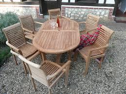 Ebay Patio Furniture Uk by Teak Garden Furniture 13 Piece