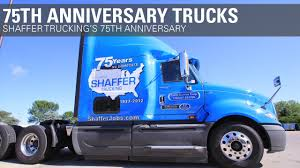 Shaffer Trucking 75th Anniversary Trucks - YouTube Mega Carrier Increases Maximum Speed For Company Drivers Blog Trucking News Cdl Info Progressive Truck School Leading Csa Scores In Industry Crete Youtube Corp Shaffer Lincoln Ne The Driver Shortage 2017 Preview On Siriusxm Careers Hirsbach Schneider Driving Jobs Home Facebook End Of Year Update A Career As Unique You Flatbed Employment Otr Pro Trucker National Appreciation Week
