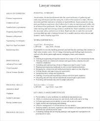 Resume Profile Examples Lawyer Also Sample Corporate