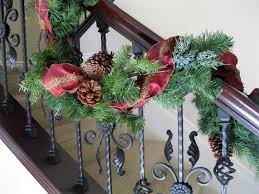 C.B.I.D. HOME DECOR And DESIGN: CHRISTMAS DECOR: GARLANDS ... Home Depot Bannister How To Hang Garland On Your Banister Summer Christmas Deck The Halls With Beautiful West Cobb Magazine 12 Creative Decorating Ideas Banisters Bank Account Season Decorate For Stunning The Staircase 45 Of Creating Custom Youtube For Cbid Home Decor And Design Christmas Garlands Diy Village Singular Photos Baby Nursery Inspiring Stockings Were Hung Part Adams