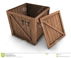 Crate With Open Lid
