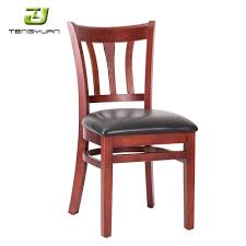 Solid Wood Unfinished Frames Upholstered Dining Chair