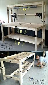 garage workbench dimensions garage work bench height garage