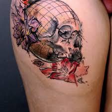 Abstract Graffiti Back Tattoo On TattooChief