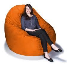 Microsuede Jaxx Cocoon 6 Foot Bean Bag Chair