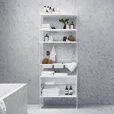 string floor panel for string shelf 85 x 30cm white