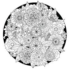 Abstract Elephant Coloring Pages For Adults Mandala Pdf These Printable Relieve Stress And Help You Meditate