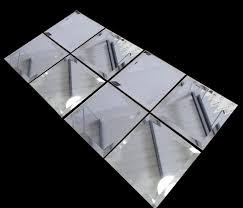 12x12 Mirror Tiles Beveled by Rectangular Beveled Mirror Tiles Home Design Ideas