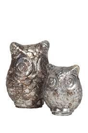 Mercana Wilton Owl Decor Set of 2