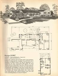 100 Floor Plans For Split Level Homes Vintage House Plans Mid Century Homes Split Level Homes