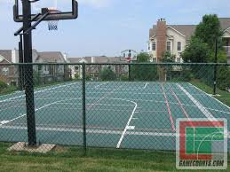 Outdoor Courts For Sport, Backyard Basketball Court, Gym Floors ... Backyard Basketball Court Multiuse Outdoor Courts Sport Sketball Court Ideas Large And Beautiful Photos This Is A Forest Green Red Concrete Backyard Bar And Grill College Park Go Green With Home Gyms Inexpensive Design Recreational Versasport Of Kansas 24x26 With Canada Logo By Total Resurfacing Repairs Neave Sports Simple Hoop Adorable Dec0810hoops2jpg 6 Reasons To Install Synlawn Small Back Yard Designs Afbead