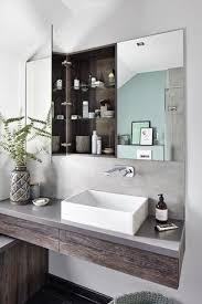 rustikale trifft auf moderne kleines bad badezimmer en