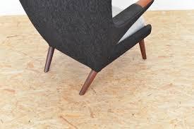 Vintage Hans Wegner Papa Bear Chair by Vintage Papa Bear Chair By Hans J Wegner For Ap Stoelen For Sale