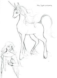 The Last Unicorn Coloring Pages Or Image Result For A Adults Hard