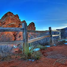 The Fence At Garden Of Gods
