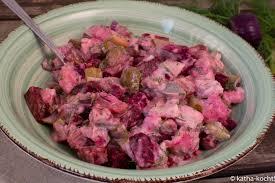 matjessalat mit gurken und roter bete katha kocht