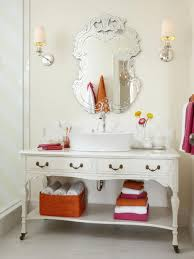 Cabidor Classic Storage Cabinet With Mirror by Dreamwalls Silver Beveled Square Frameless Traditional Wall Mirror