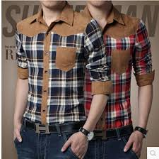 2017 wholesale new men stand collar long sleeve shirts casual