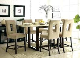 Dining Room Wine Bar Rack Kitchen Table With Height