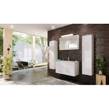 badmöbel set teramo 100 cm 5 teilig weiß hochglanz
