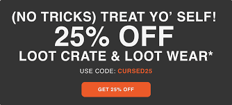 Loot Crate Coupon: Get 25% Off Core Crate + Loot Wear ... Loot Crate June 2014 Review Transform Coupon Code Vault Golden Ticket Please Comment If You Claimed It Crate Sanrio Coupon Code Fresh Step Lweight Best Loot Modellscom Coupons Sb Muscle Free Shipping Prezibase Man Child Of Mine Carters Secret Promo Codes Hidden Prizes Deals Uk Thick Quality Glass Crates Promo Stein Mart Charlotte Locations Dragon Gourmet Does Qdoba Give Student Discounts March 2017 Primal Spoilers Nerdspan