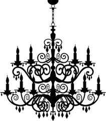 324x368 Pin Chandelier Clipart Vector 2