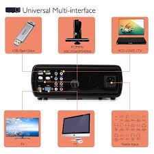 irulu bl20 projector home cinema 5 0 inch lcd tft 1080p hd