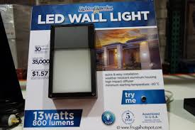 costco costco sale lights of america led outdoor wall light 999