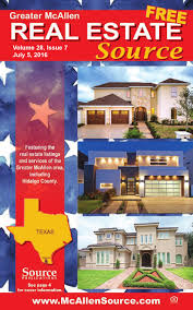 El Patio Downtown Mcallen Tx by Mcallen Real Estate Source Volume 28 Issue 7 By Source