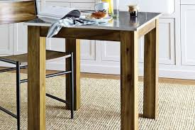 Rustic Kitchen Square Table West Elm