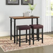 Laurel Foundry Modern Farmhouse Sevigny 3 Piece Pub Table Set ... European Style Cast Alinum Outdoor 3 Pieces Table And Chairs Piece Tasha Accent Side Set The Brick Zachary 3piece Occasional By Crown Mark Fniture Amazoncom Winsome Wood 94386 Halo Back Stool Kitchen Ding Sets Piece Table Sets Coaster Sam Levitz Obsidian Pub Chair Gardeon Wooden Beach Ffbeach Winners Only Broadway With Slat Tms Bistro Walmartcom 3piece Drop Leaf Beige Natural Bernards Ridgewood Dropleaf Counter Wayside